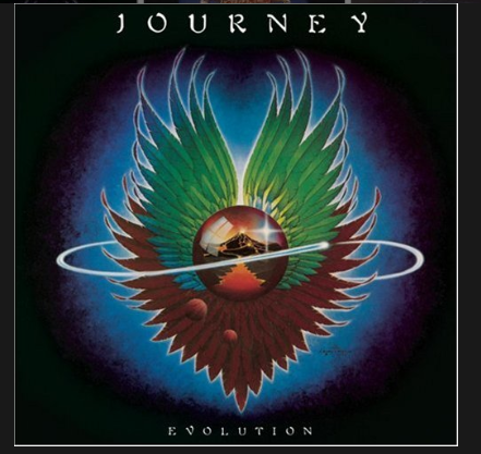 Journey Evolution Album Cover
