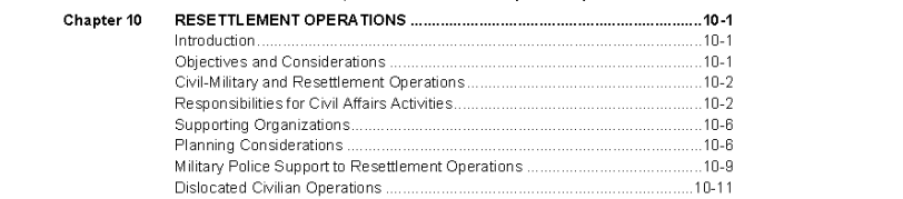 chapter 10 of internment and relocation operations manual