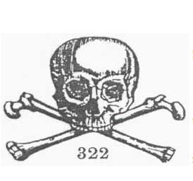 skull and bones magic symbol
