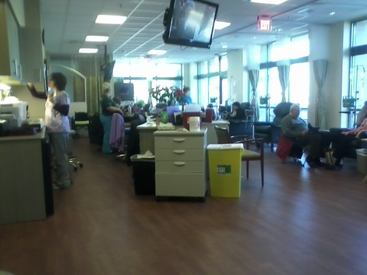 Sunny Chemo Room