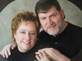 "Me and Hubby! People used to ask us if we were brother and sister. I said, ""no, but my family is from West Virginia!"