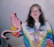 '93-The flamingo caper: My roomie Shan