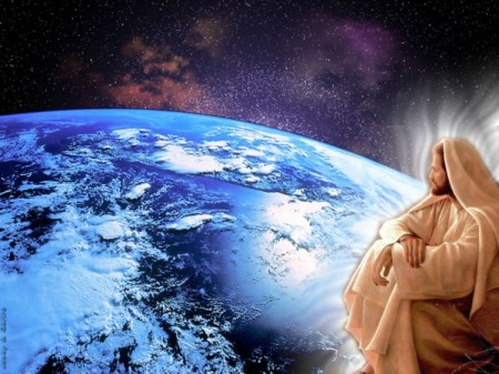 jesus looks at the world