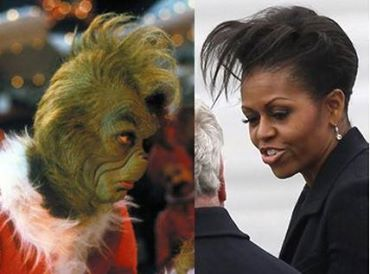 michelle as the grinch