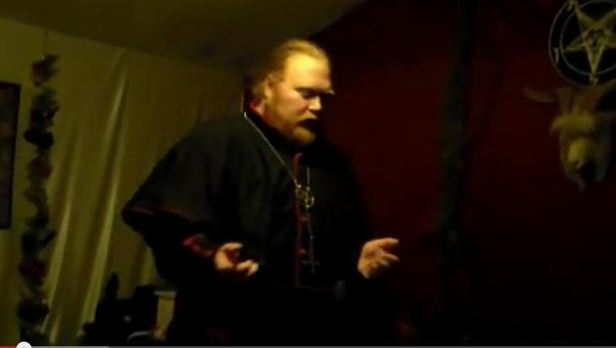 Adam Daniels-cofounder of the Satanic church Dakhma of Angra Mainyu