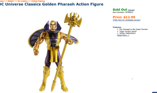Pharoah sold out