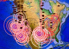 Earthquakes in US first week May
