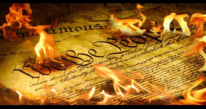 Constitution-burning