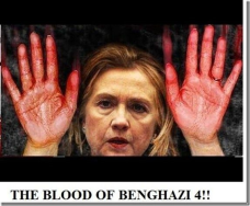 hillary benghazi blood on her hands