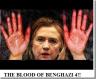 hillary benghazi blood on her hands