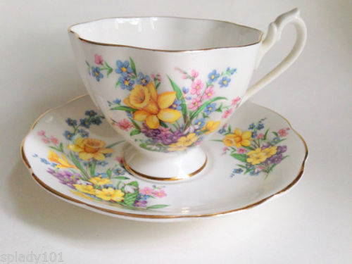 Spring cup and saucer