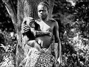 Ota Benga man or monkey creation moments