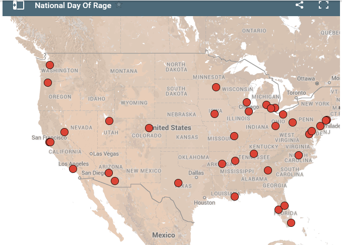 Day of Rage map