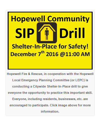 shelter-in-place-drill-announcement