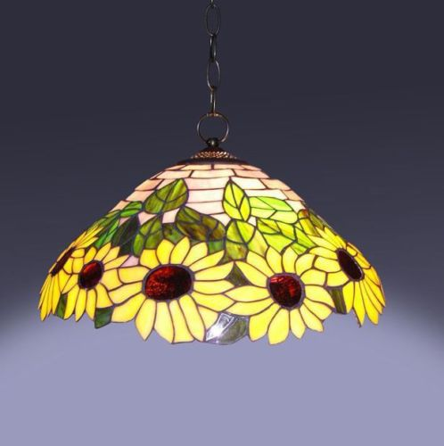 sunflower-light-fixture