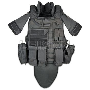 Kevlar groin protector for military and law inforcement