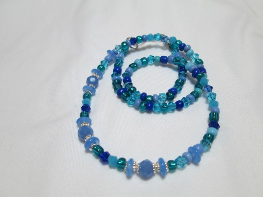 Caribbian Blue necklace